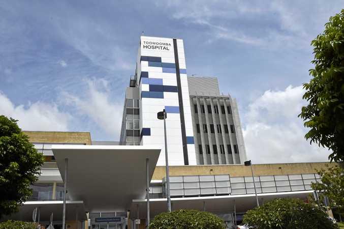 Toowoomba Hospital. Photo Bev Lacey / The Chronicle