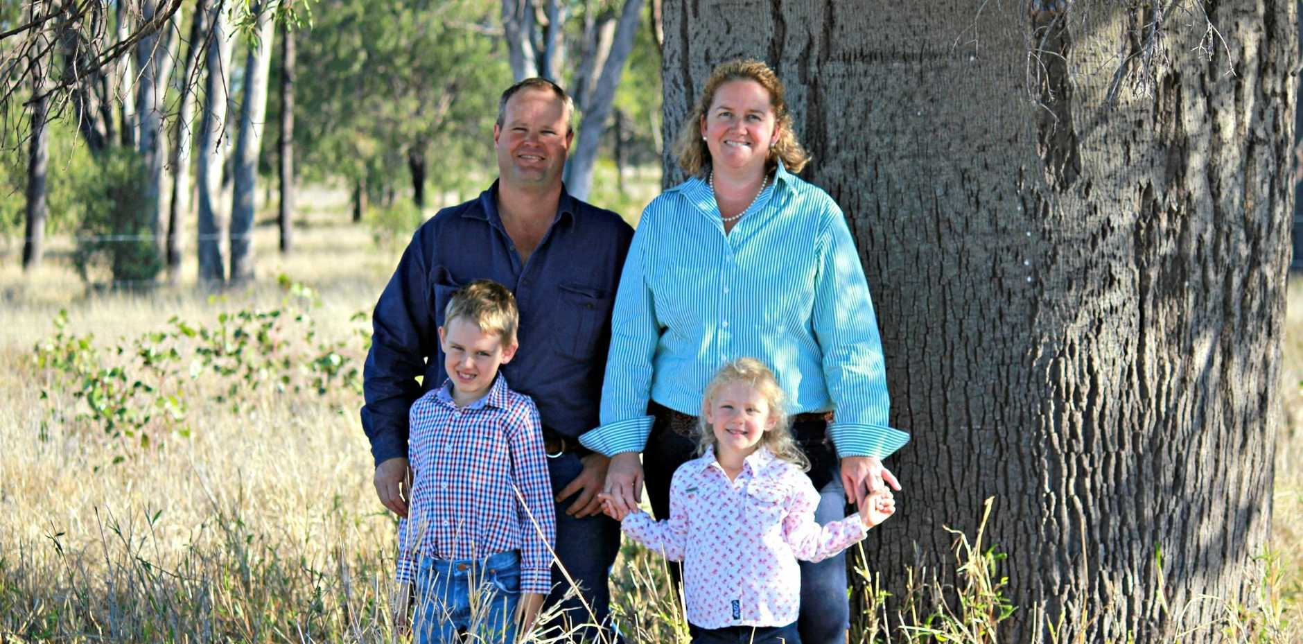 FAMILY PRODUCE: The Beissels are confident the Australian beef industry has something to offer.