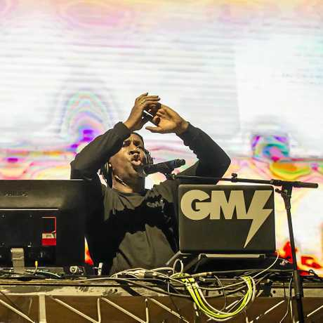 Grandmaster Flash at Falls Festival in Byron Bay. Photo: Niche Pictures - Lyn McCarthy