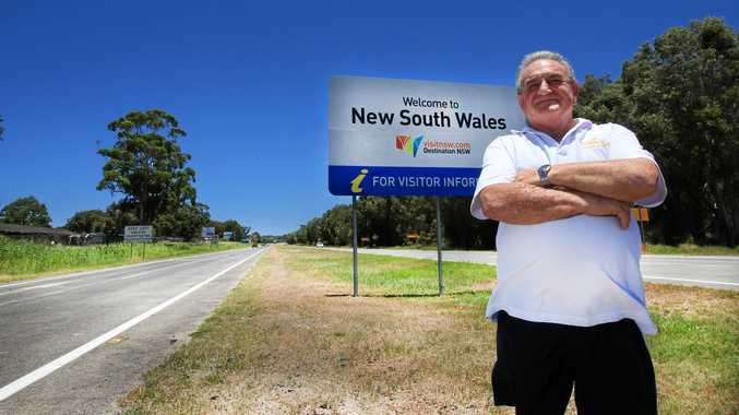 DAGGY ROAD: Cr Warren Polglase is calling on the NSW Government to do something about the entry to NSW from Gold Coast Airport.