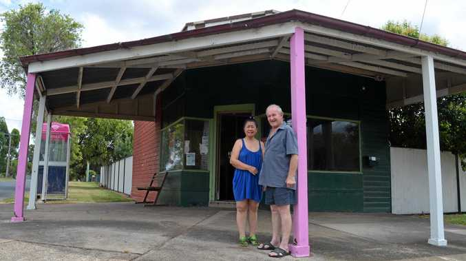 FOR SALE: Charm and Nick Young are selling the corner store on the corner of Pratten and Mcevoy Sts.