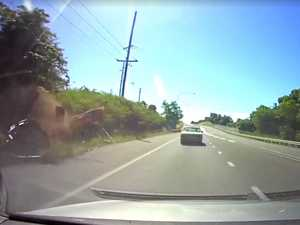 Fugitives' miraculous escape from high-speed crash: DASH CAM