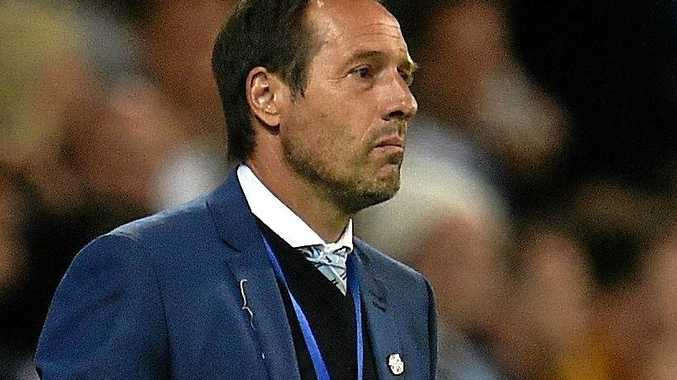 Melbourne City coach John van't Schip has resigned.