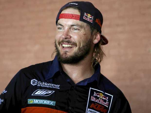 KTM motorbike rider Toby Price, of Australia.