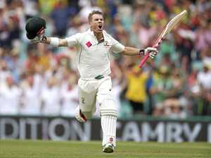 Warner scores ton in a session