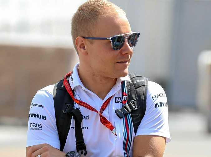 Finnish Formula 1 driver Valtteri Bottas.