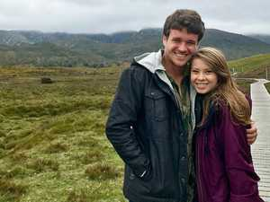 Bindi Irwin gushes as she reunites with boyfriend Chandler