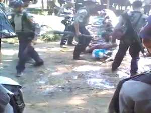 Burmese police detained for torturing Rohingya villagers