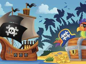 Pirates chase winged fortune