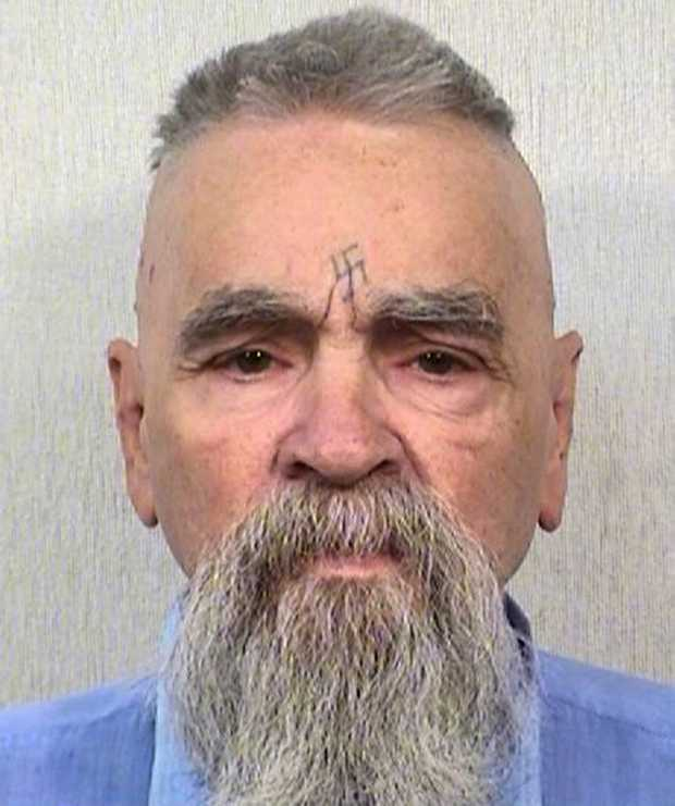 FILE - This Oct. 8, 2014 file photo provided by the California Department of Corrections and Rehabilitation shows serial killer Charles Manson. California prison official says cult killer Manson is alive following reports that he was hospitalized on Tuesday, Jan. 3, 2017.