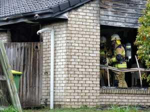Family left homeless as flames gut Raceview house