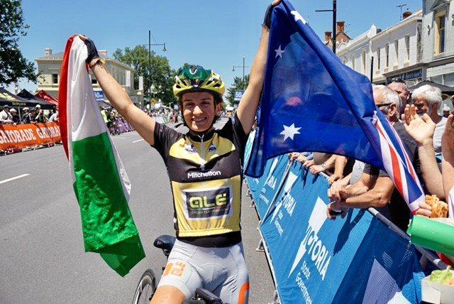 Italian cyclist Valentina Scandolara won the general classification to take out the women's elite series of the Mitchelton Bay Cycling Classic.