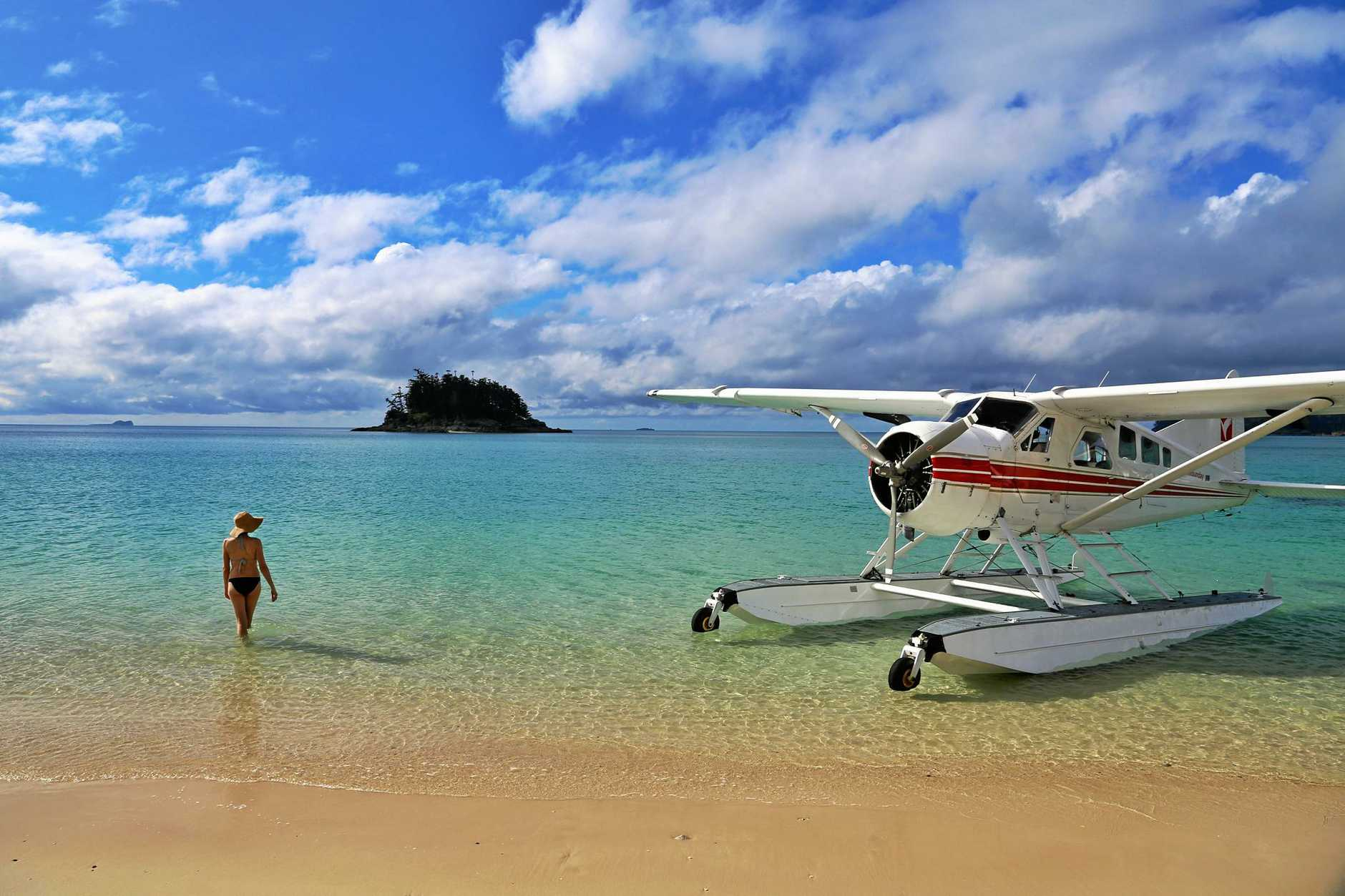 NATURAL BEAUTY: Langford Island is a popular tourist destination in the Whitsundays.