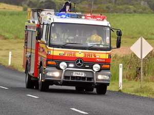 Fire crews rush to reported house on fire