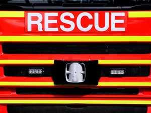 Fire crews called to blaze near highway