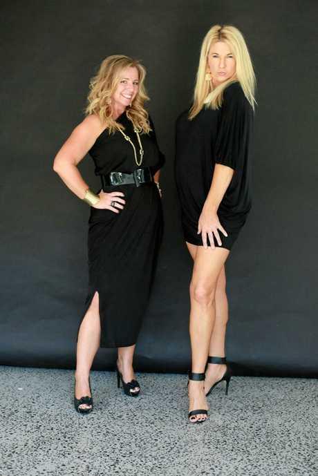 Mullumbimby comedians Mandy Nolan and Ellen Briggs.
