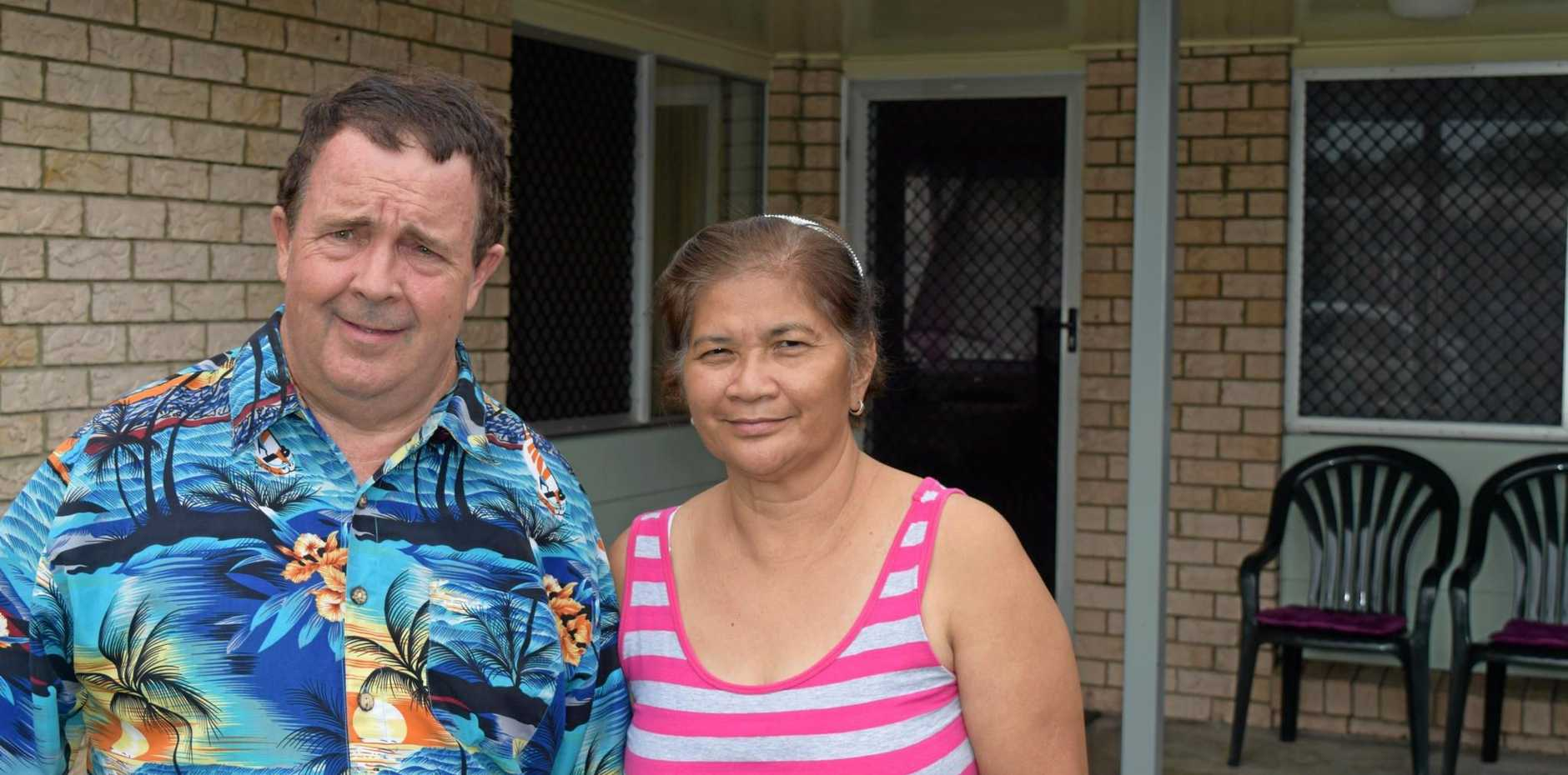 Dennis and Julieta Lyons have been told by the Department of Housing their rent will increase all because the couple fell in love and got married.