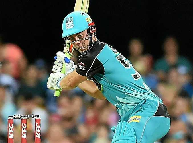 Chris Lynn of the Heat is struggling with a shoulder injury.