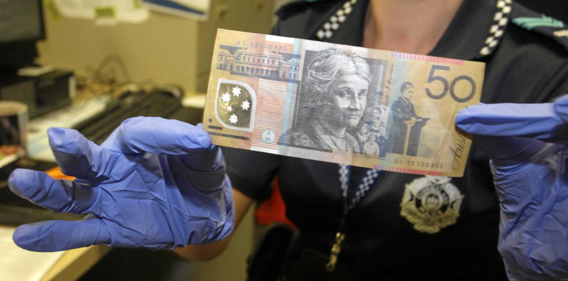 Counterfeit notes have been circulating in the Goondiwindi region.