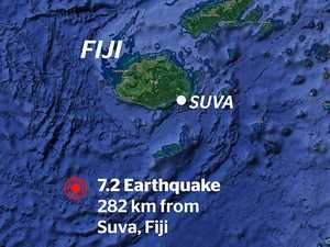 Fiji hit by magnitude 7.2 quake, tsunami warning issued
