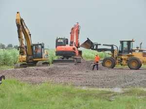 Rail line repairs