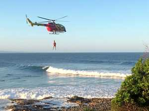 Pilots warned after drone almost hits rescue helicopter