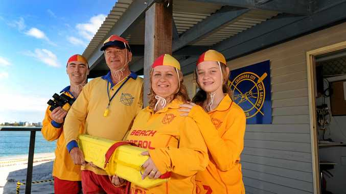 PROUD CLUB: Paul Barry, Paul Seto, Lynda Barry and Laura Barry from the Ithaca surf club.