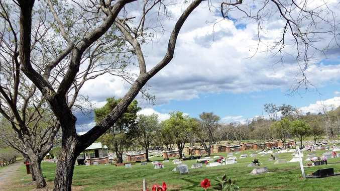 Casino Lawn Cemetery is where beloved nan Irene Gough will be buried.