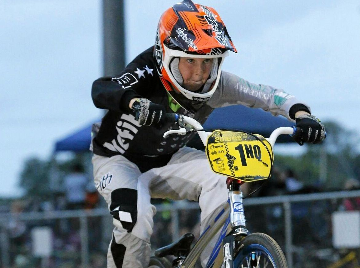 North Queensland number one rider, Mackay's Jackson English, will be competing at the Nerang International this weekend.