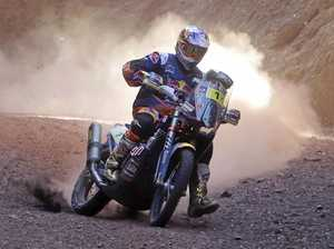 Aussie slips from lead in Dakar Rally