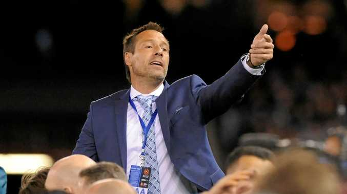 Departing Melbourne City coach John van't Schip.