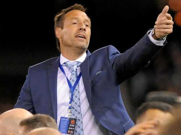 Departing Melbourne City coach John van't Schip.
