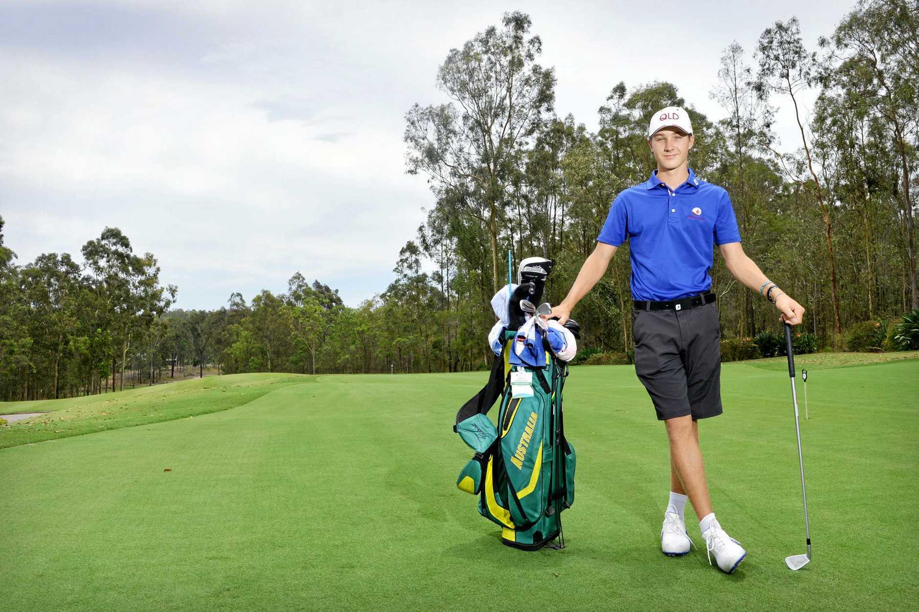 Golfer Louis Dobbelaar just won New Zealand Ameteur Golf Tournament.