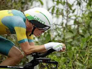 Dennis powers home in national time trial