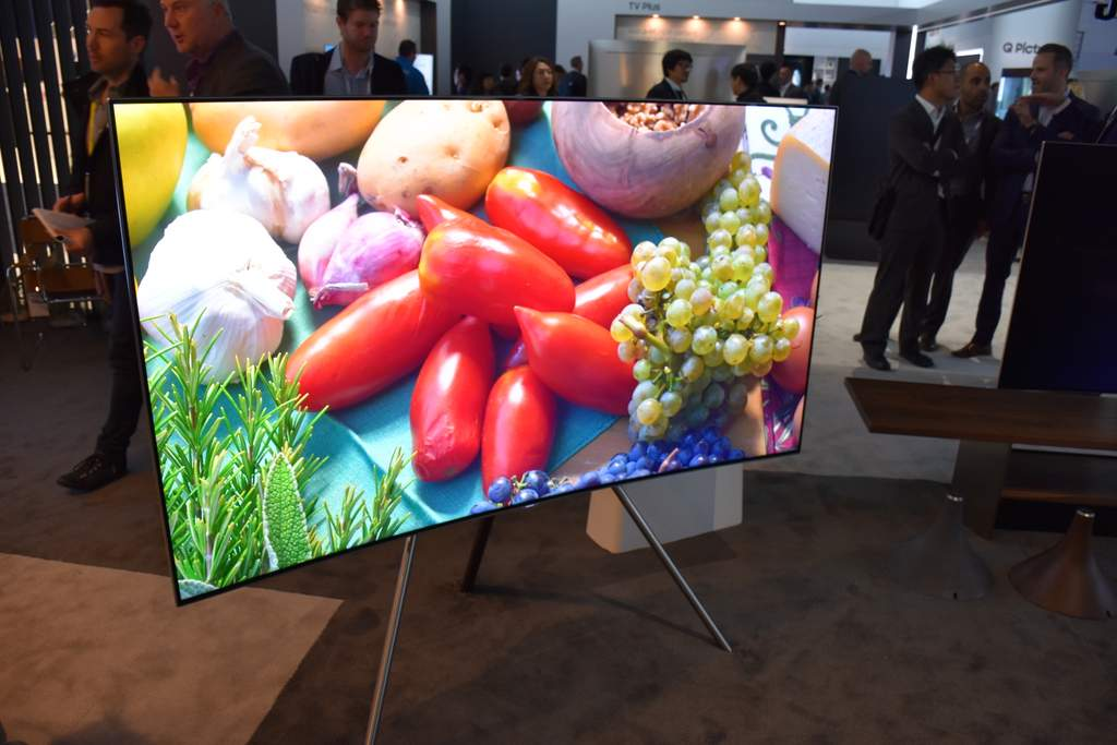 Samsung's new QLED televisons: Where TV is art.