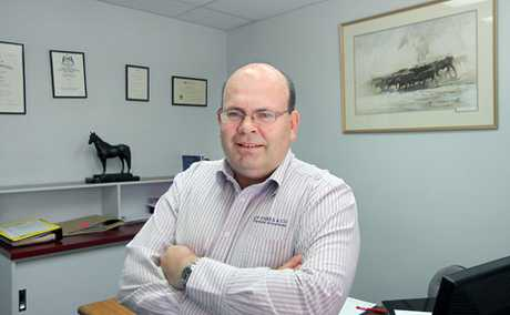 AT THE HELM: CQ Rugby Union chief Ian Coombe has been honoured for his dedication to the code with a life membership.