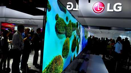 LG's super thin Wallpaper TV is just 2.57mm thick in the 65 inch format - the size of a credit card.