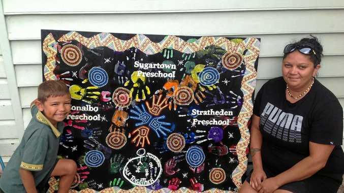 Wardell Preschool's mural.