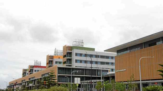 Sunshine Coast University Public Hospital at Birtinya.