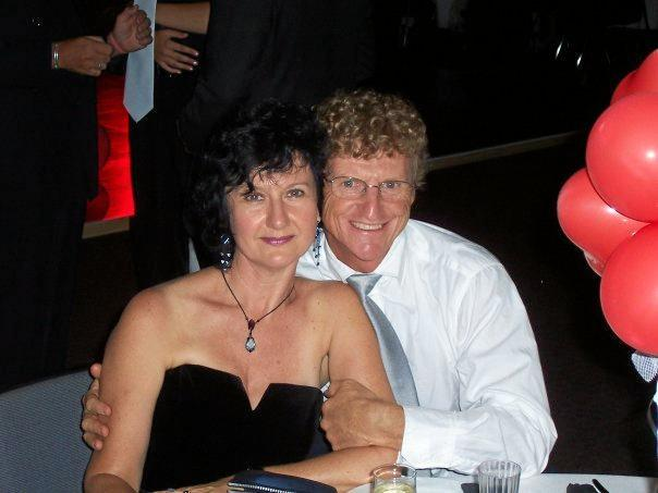 Kari and Allan Taylor were killed when they were hit by a car beside the Sunshine Motorway at Sippy Downs.