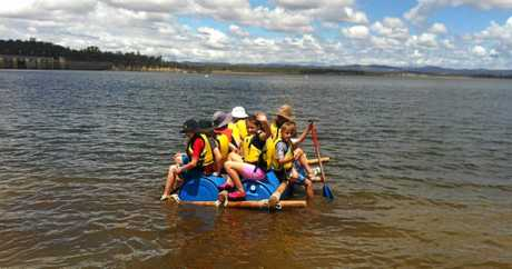 SOTE kids enjoyed their trip to Leslie Dam.  Photo Contributed