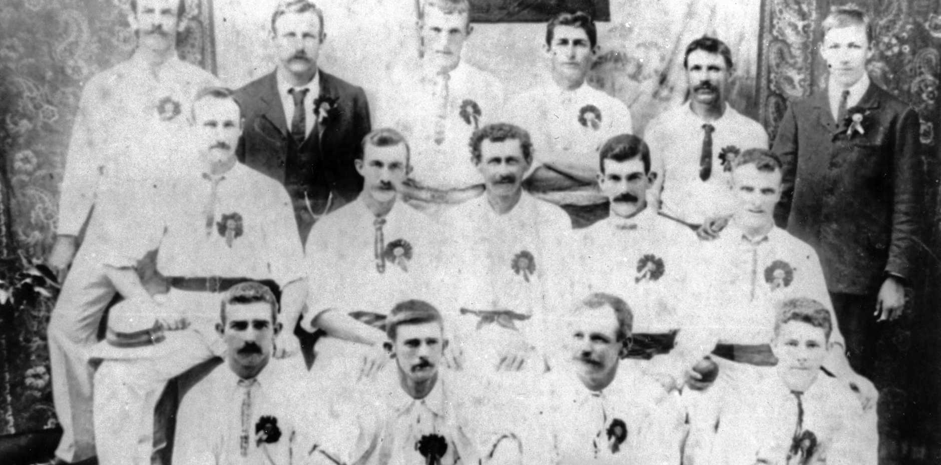Nambour Cricket Club during the Isis Cricket Club Tour of 1906.