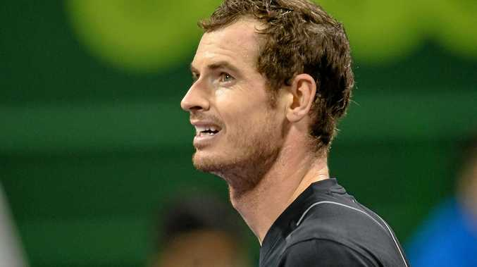 World No.1 Andy Murray of Great Britain.