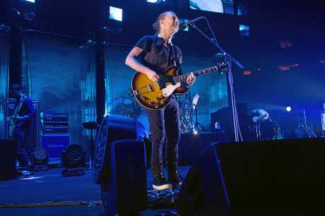 Thom Yorke from the band Radiohead performs at Madison Square Garden, last year.