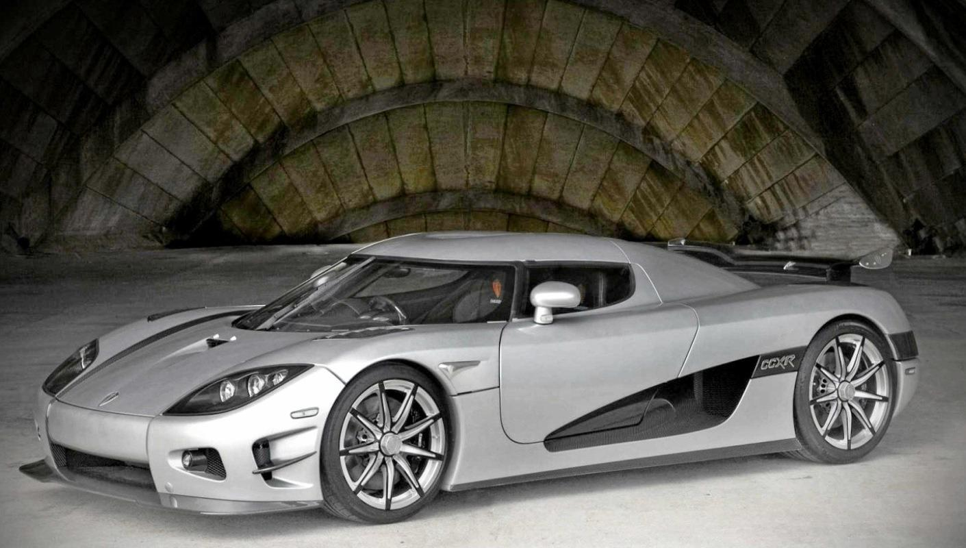 The world's most expensive car, the Koenigsegg CCXR Trevita, of which only two were ever made. It was priced at $4.8 million by a US website in 2016.