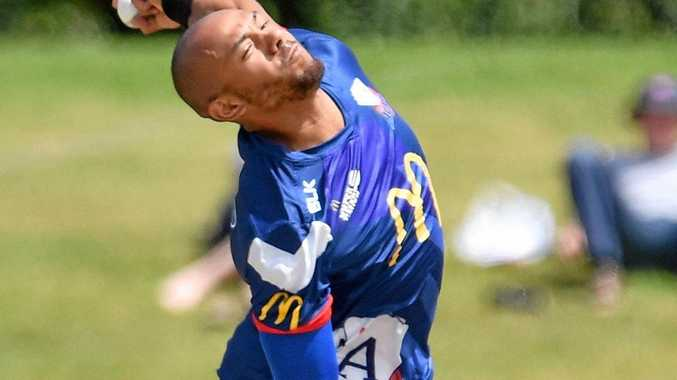 NEW HEAT MAN: England pace bowler Tymal Mills joins Brisbane next week.