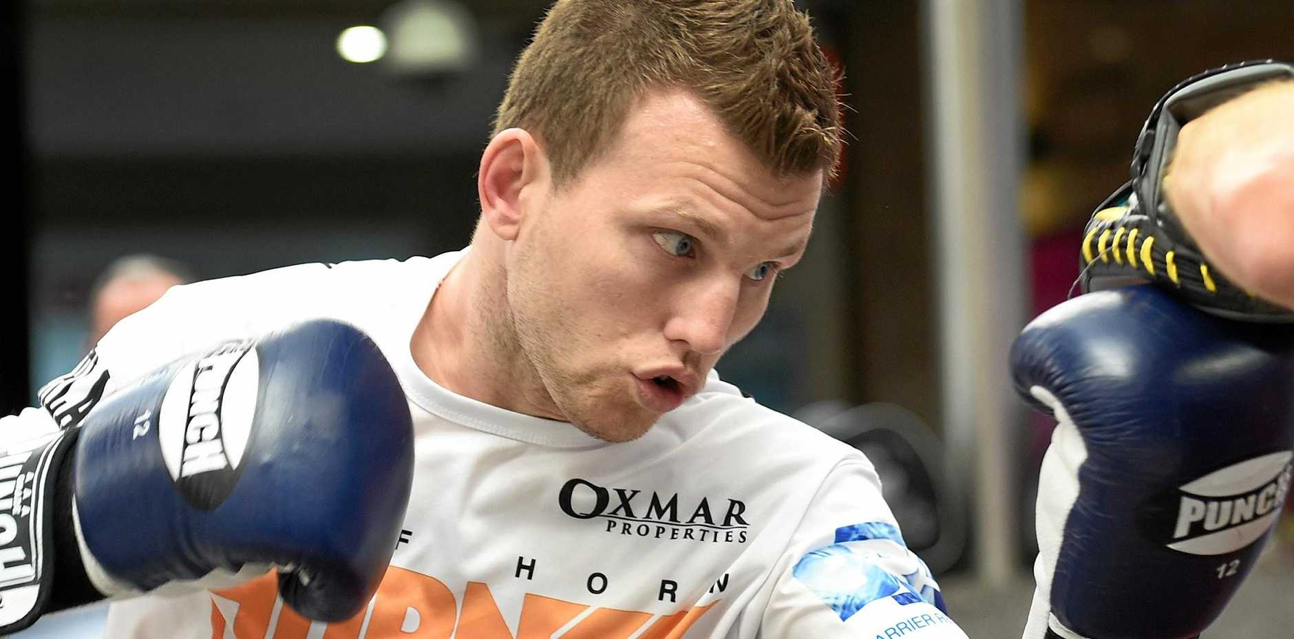 TITLE BEGGING: Brisbane's Jeff Horn is close to a world title shot against Filipino great Manny Pacquiao.