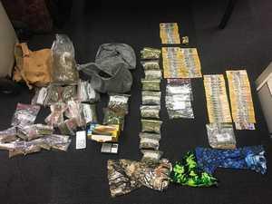 Masked drug dealers chased down in Nimbin, police allege