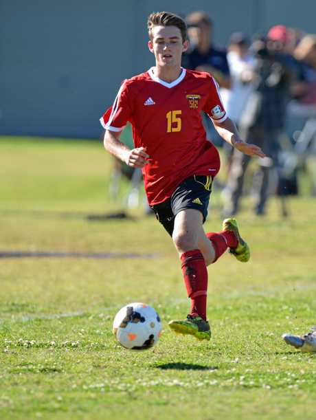 FORMER PLAYER: Jed Zanos in action for Sunshine Coast Fire against Fury.