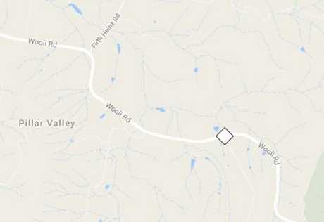 The location of a fatal crash this morning.